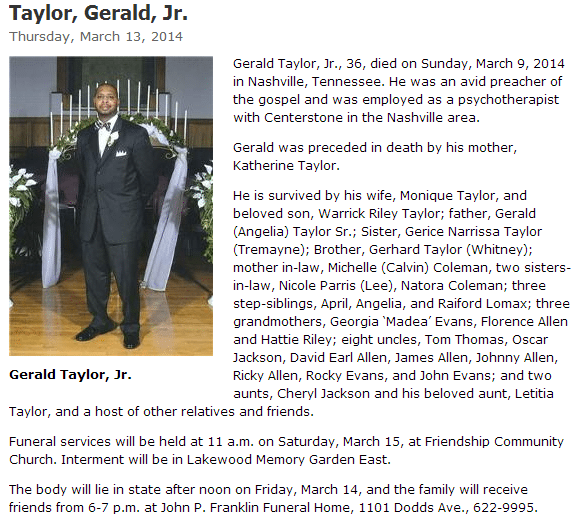 TaylorGerald_Obituary